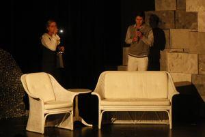 Theater Fanferlüsch, Der schwarze Abt, Bettine Schulz, Henry Walczyk