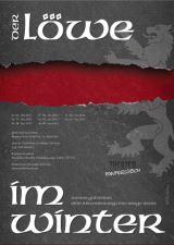 Plakat zu Der Löwe im Winter (Gestaltung: Carsten Knust)