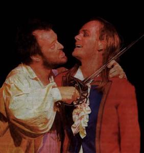 """In """"Der grüne Kakadu"""" bringt das Theater Fanferlüsch die Zeit der Französischen Revolution auf die Bühne. (Foto: Rudolf Flentje)"""